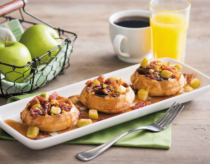 NEW Bacon Apple Waffles. Visit your local Mimi's to enjoy our new breakfast menu!