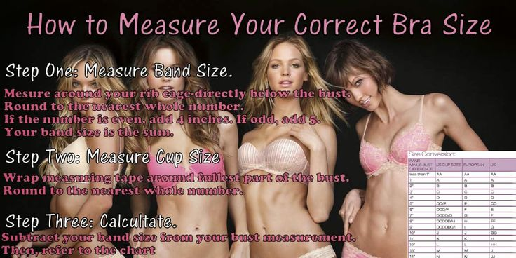 Diary of a Fit Mommy: How to Measure Your Correct Bra Size
