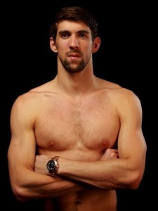 "Michael Phelps (Swimming)Age: 27     Hometown: Baltimore, Md.     Why We Love Him: After the 2008 Summer Olympics in Bejing, Sports Illustrated called Michael Phelps ""the greatest swimmer in history."" Now in his fourth Olympic games, the most decorated Olympian of all time has got a lot to live up to this year! Phelps is confident in his abilities though, and recently told NBC that he's not worried about his competition: ""The only things I'm afraid of are snakes and heights!"""