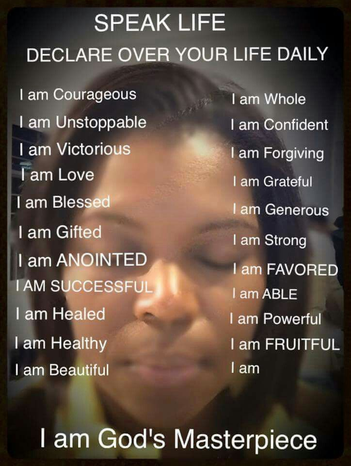 Positive self talk yields positive self thoughts! Pinned by ZenSocialKarma For more ideas on reducing tension, check out findingstressrelief.com