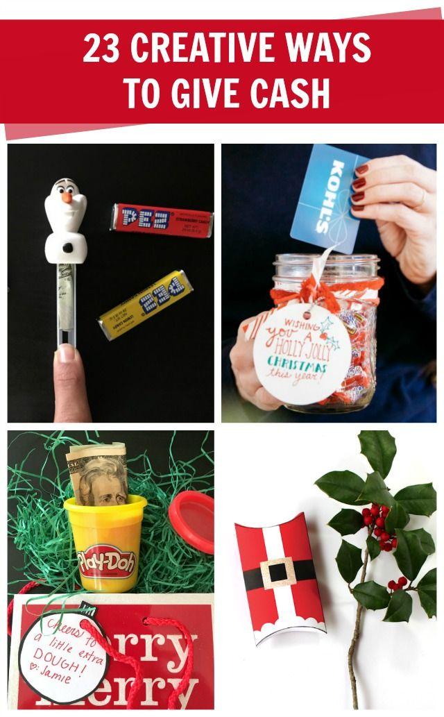 Creative ways to wrap Christmas money