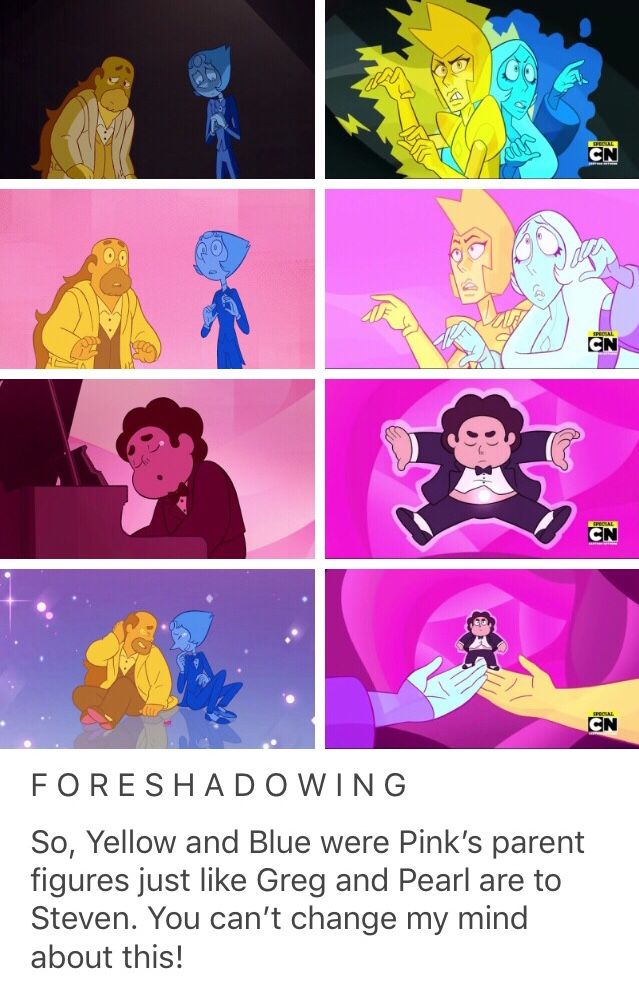 steven universe mr greg reunited parallel pearl and greg yellow and blue diamond. Black Bedroom Furniture Sets. Home Design Ideas
