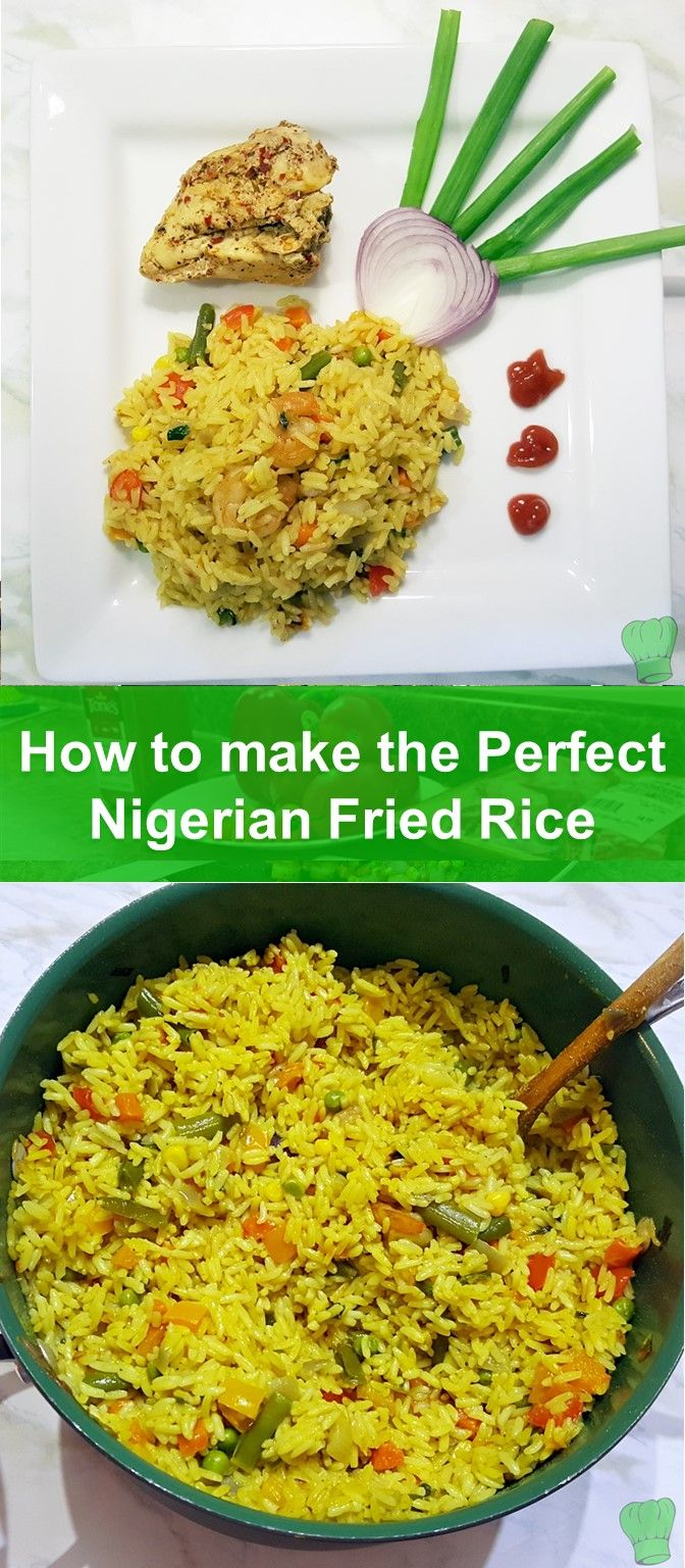 Nigerian fried rice at its finest. Simple easy to execute recipe.