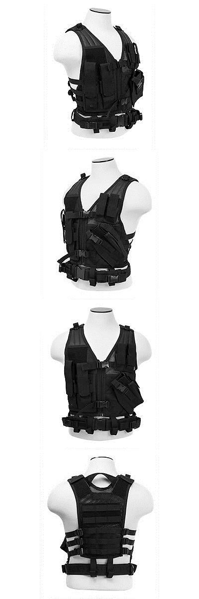 Clothing and Protective Gear 159044: Vism Tactical Airsoft Kids Vest - Black -> BUY IT NOW ONLY: $34.99 on eBay!