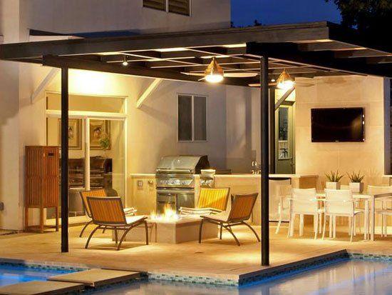 Outdoor Kitchen Design Tips & 25 Inspiring Photos | Decorating Files | decoratingfiles.com