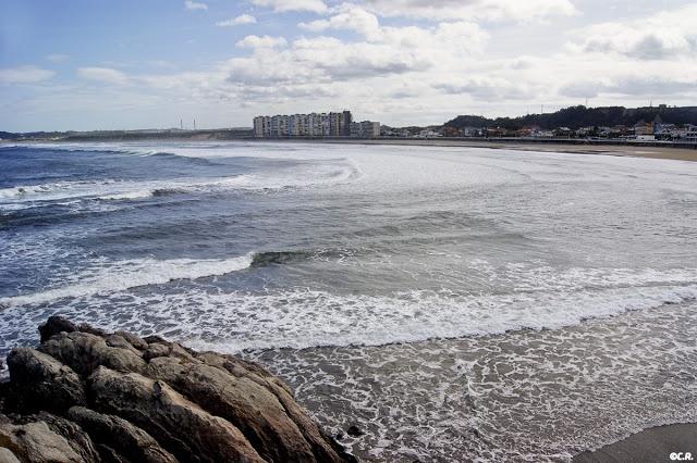Playas de Asturias: Salinas -Castrillon