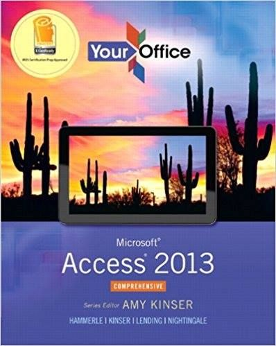 Your Office Microsoft Access 2013 ComprehensiveAmy S. Kinser Patti Hammerle Eric Kinser  Diane Lending  Test Bank  If you are interested for it.   JUST contact us anytime  for contact:   student.p24@hotmail.com   student.p24(at)Hotmail(dot)com  We will reply to you ASAP...  Student Saver Team  http://ift.tt/1JmRteV  #TestBank #Test_Bank #SolutionManual #Solution_manual #Instructor_Manual #Exams #homework #problems #exercises