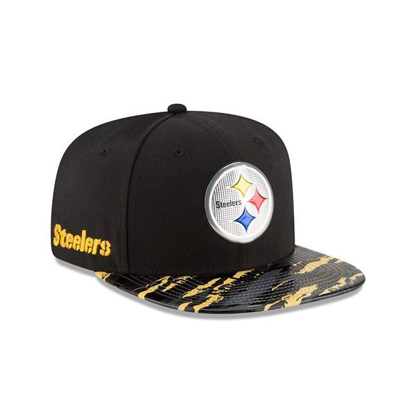 Picture of Pittsburgh Steelers New Era 9FIFTY Color Rush Cap