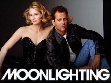 Moonlighting -- a real classic. the barb-trading back and forth on this was witty and cute... One of my most fondly remembered episodes was their version of The Taming of the Shrew. They all went neo-Shakespearean.