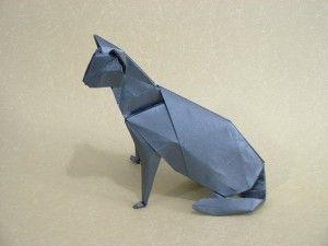 Origami Cat. Difficult