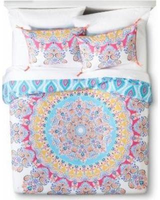 Boho Boutique Gypsy Rose Comforter Set - Multicolor (King)