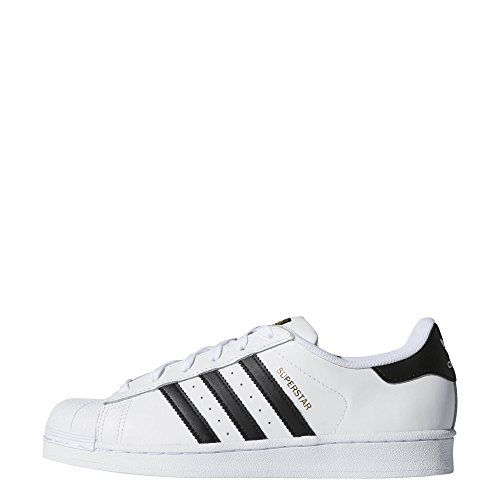 adidas Originals Women's Superstar Shoes, White/Black/White ...