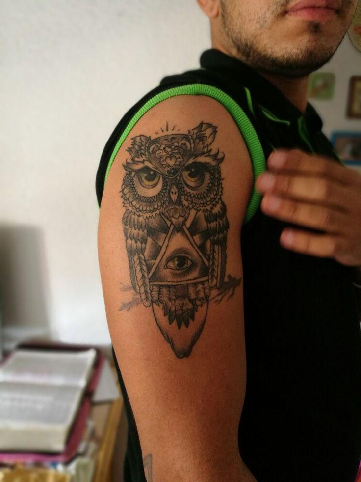 Buho, ojo de Osiris