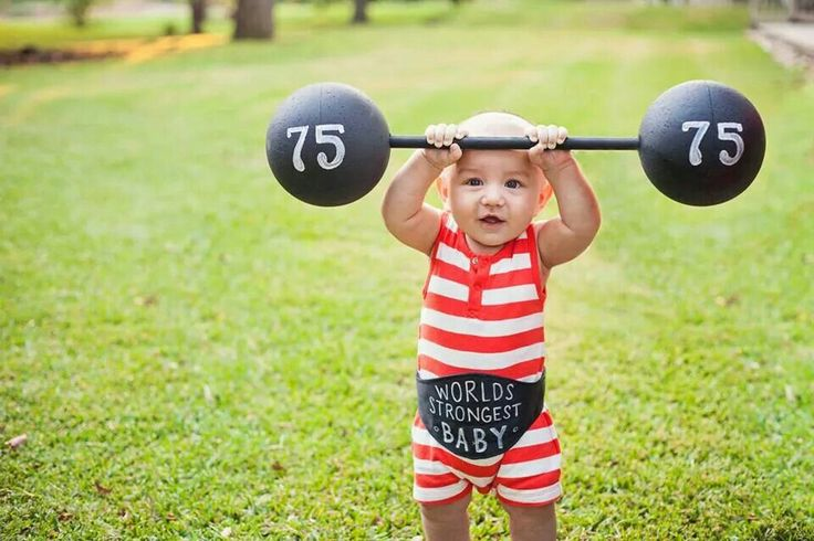 Best baby costume EVER!  Strongman and the family circus! @the3photography
