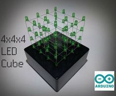 4x4x4 LED Cube (Arduino Uno) ---- HEY HEY!!!  For more COOL ARDUINO stuff, check out http://arduinohq.com