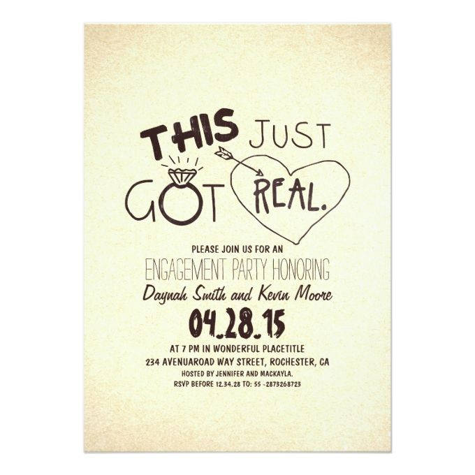13 best Engagement Invitation Wordings images on Pinterest