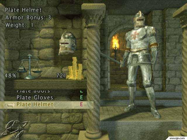 Baldur S Gate Dark Alliance Ps2 With Images Helmet Armor