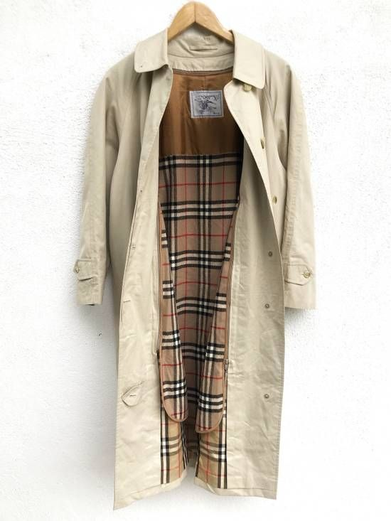 daed006e025f Burberry Vintage Burberry s Nova Check Plaid Trench Coat Wool Lining Beige  Colour Button Winter Jacket Made In Japan Size m - Heavy Coats for Sale -  Grailed