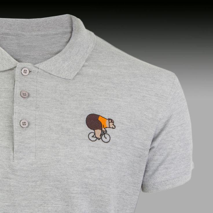 Polo qué grande ser ciclista #polotshirt #polo #ciclista #cycling
