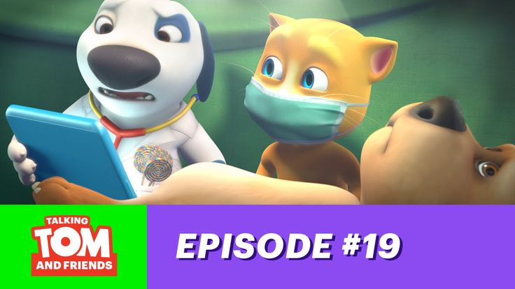 Talking Tom and Friends ep.19 - Doc Hank xo, Talking Angela #TalkingAngela #TalkingTom #MyTalkingAngela #LittleKitties #TalkingFriends #TalkingBen #TalkingHank #TalkingGinger