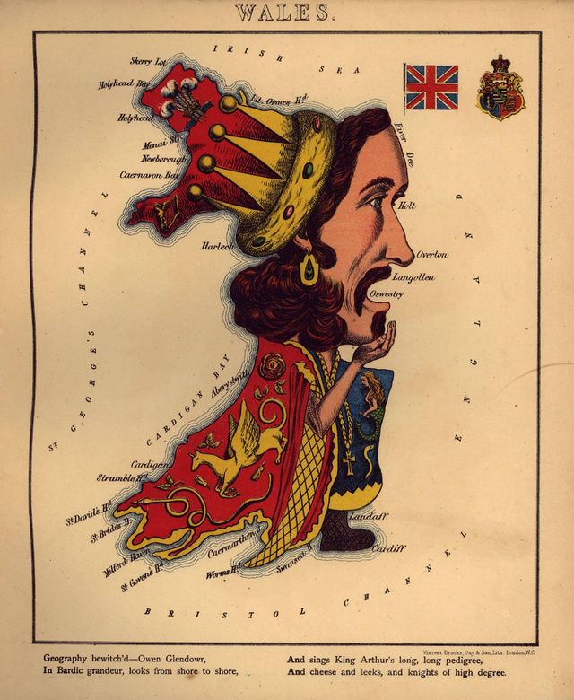 "A humorous outline of Wales by ""Aleph"" (William Harvey), London, 1868"
