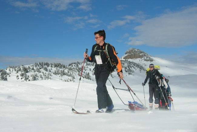ski randonnée nordique #vercors