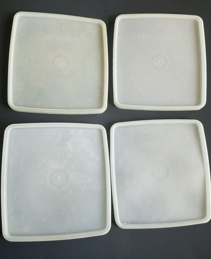 Lot of 4 Tupperware #671 Sheer Sandwich Keeper LIDS ONLY Replacement Seal Covers   Collectibles & 16 best Tupperware images on Pinterest   Vintage tupperware Kitchen ...