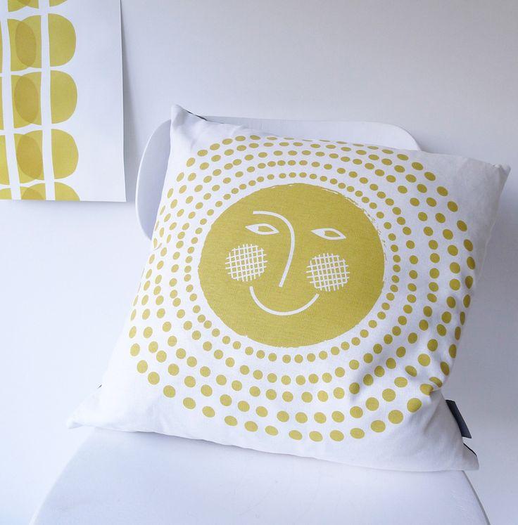 Roddy  Ginger's Sun Spot cushion