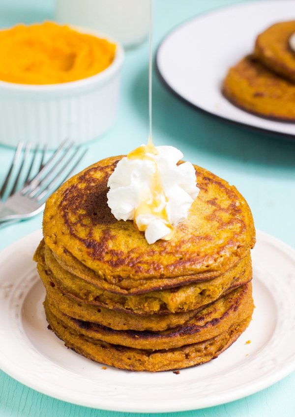 Gluten-Free Pumpkin Pancakes | Here Are 19 Pancake Recipes That Don't Have Any Gluten