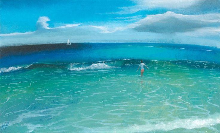 The Passing White Sail – Macaroni Beach