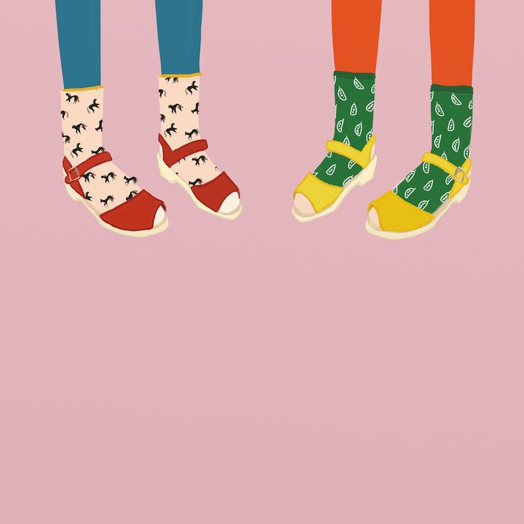 Lotta Clogs Illustration by Betsy Petersen