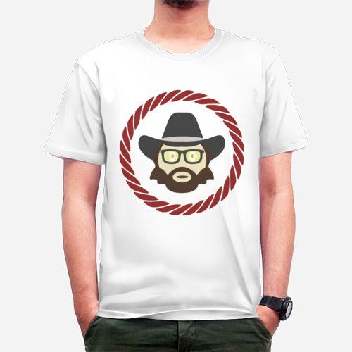 Chuck Norris Hipster dari Tees.co.id oleh Mine