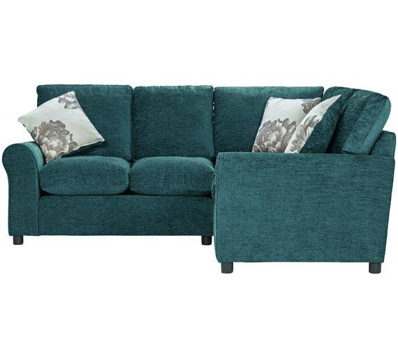 Buy HOME Tessa Dual Facing Corner Sofa - Teal at Argos.co.uk - Your Online Shop for Sofas, Living room furniture, Home and garden.