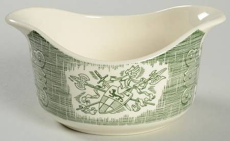 Gravy Boat in The Old Curiosity Shop (Green) by Royal (USA)