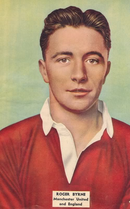 Roger Byrne 1955 - 1958. Died in the 1958 Munich air disaster. #mufc #sketch