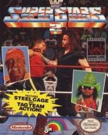 Wrestling game cover Art | WWF Superstars 2