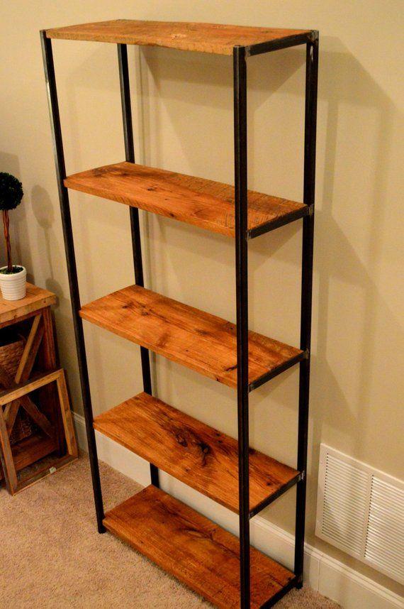 12 Estantes de hierro y madera para cocina