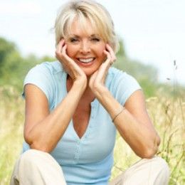A woman of menopausal age.  http://awordlover.hubpages.com/hub/Change-of-Life-Otherwise-Known-as-Menopause