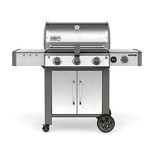 Weber 66004001 Genesis II LX S-340 Natural Gas Grill, Stainless Steel | Gas Barbeque Reviews