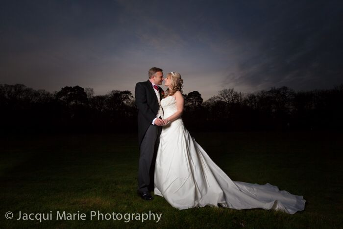 Fabulous couple at the end of their perfect day at Warbrook House, photographed by Hampshire wedding photographers Jacqui Marie Photography. VISIT http://jacqui-marie-photography.co.uk for details