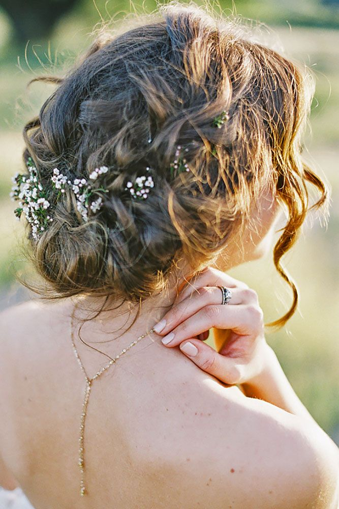 Best 25+ Rustic Wedding Hairstyles Ideas On Pinterest