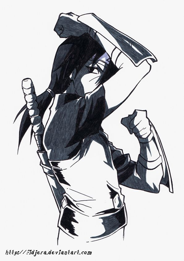 Anbu Itachi by fidjera.deviantart.com  Check out my Naruto fanfiction story The Man That Disappeared: https://www.fanfiction.net/s/9928492/1/The-Man-That-Disappeared