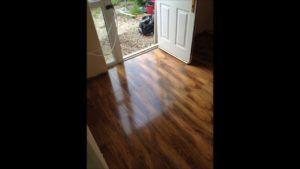 Super High Gloss Walnut Laminate Flooring