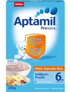 myTime Angebote Milupa Aptamil Pronutra Milch-Getreide-Brei Vollkornfrucht: Category: Baby > Babynahrung > Breie &…%#lebensmittel%