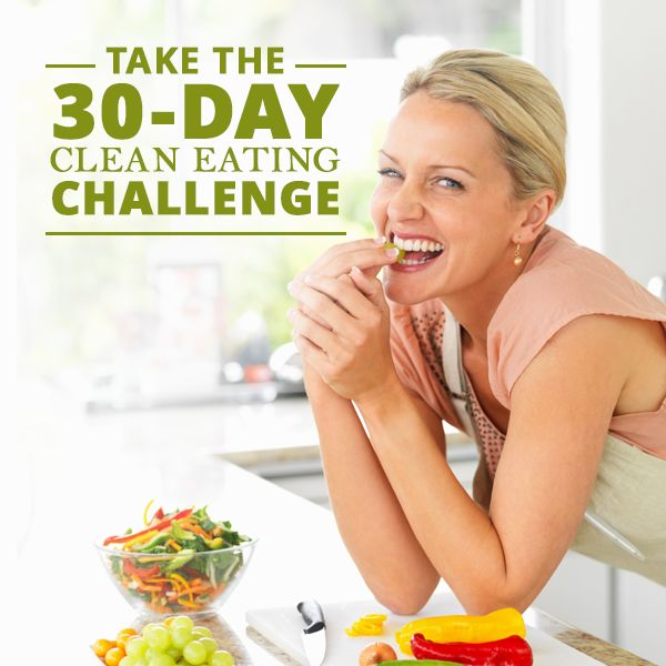 Are you sick of filling your body with preservatives, bi products, chemicals and who knows what else? If your answer is yes, then you are ready to take on our 30-Day Clean Eating Challenge! #cleaneating #challenge #healthyliving