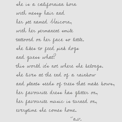 #4 poem by A.V. from alexandrasparadise.blogspot.com