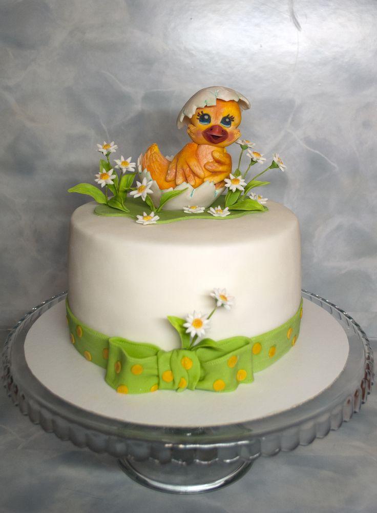Dort s kačenkou pro malou Kačenku. Cake with little duck.