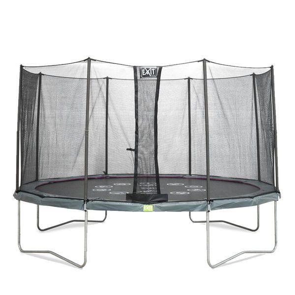 Trampoliini turvaverkolla - Exit Twist trampoliinipaketti