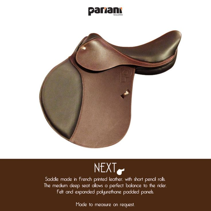 saddle NEXT! #alwayswithpariani