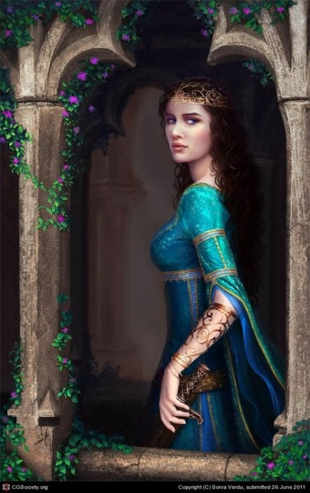 521 Best Medieval Maidens, Beautiful Women Images On Pinterest  Digital Art, Fantasy -2184